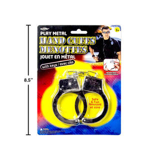 Play Metal Hand Cuffs B/C - Dollar Max Depot
