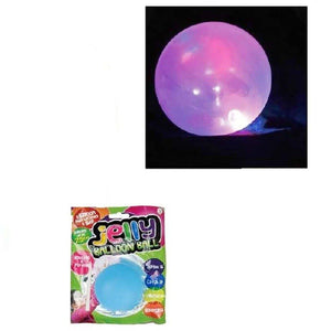 6.5Cm Flashing Jelly Balloon - Dollar Max Depot