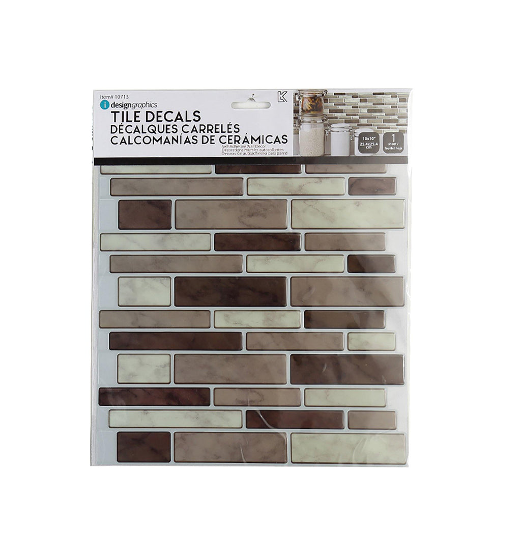Idesign Wall Decals Multi Rect. - Dollar Max Depot