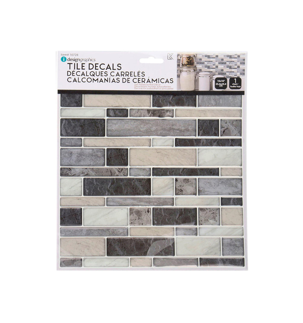 Idesign Wall Decals Square/Rect. - Dollar Max Depot