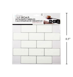 Idesign Wall Decals Subway Tile