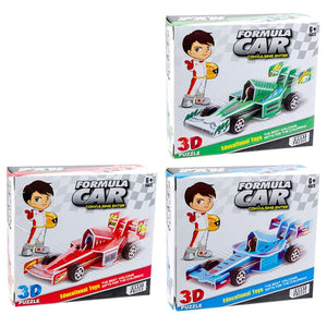 Pull Back Puzzle Formula Racer - Dollar Max Depot