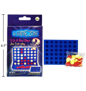 U-Game Zone '4-In-A-Row' Game