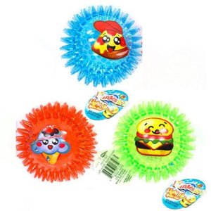 Yummerz Light-Up Spike Ball - Dollar Max Depot