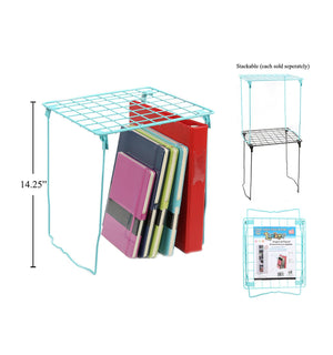 O.Wks. Locker Stack-N-Shelf Blue