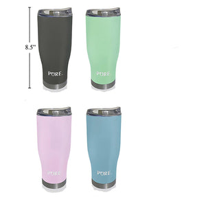 Pure 650 ml Thermos Tumbler - Spring Color - Dollar Max Depot