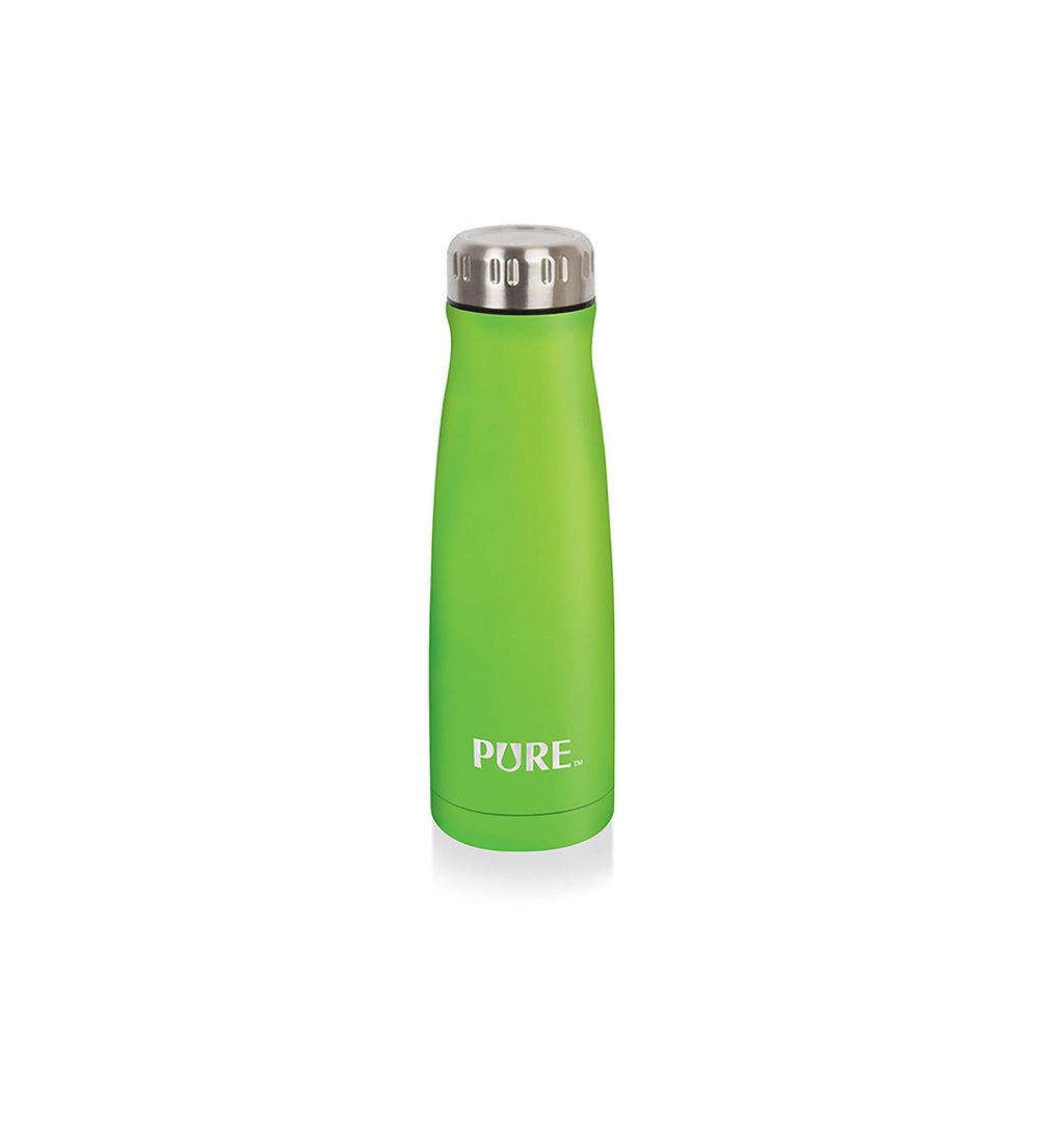 Pure 350 ml Thermos Bottle Widemouth - Lime - Dollar Max Depot