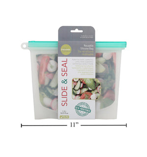 L.Gourmet 1.5L Slide &Seal Reusable
