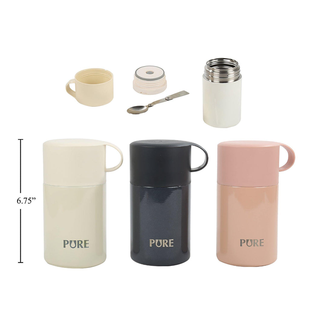 Pure 550Ml Thermal Insulated Food Container - Dollar Max Depot