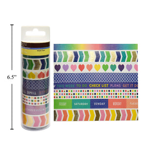 "Washi Tape ""Days And Play"" Design - Dollar Max Depot"
