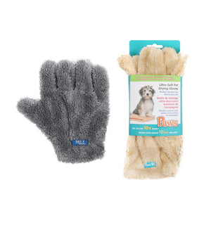 Paws Pet Drying Gloves
