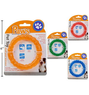 Paws Pet Toy For Puppy Ring