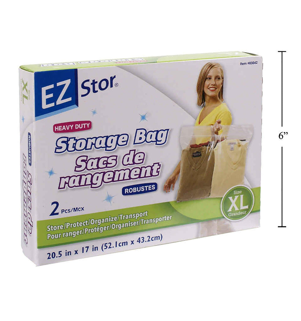 Ez-Stor 2-Pc Hd Storage Bag Size Xl - Dollar Max Depot