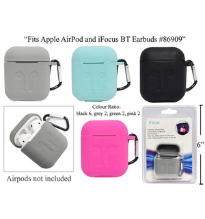 Ifocus Silicone Case For Airpods - Dollar Max Depot