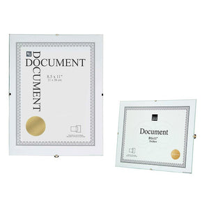 Clip Document Frame 8.5X11In Clear