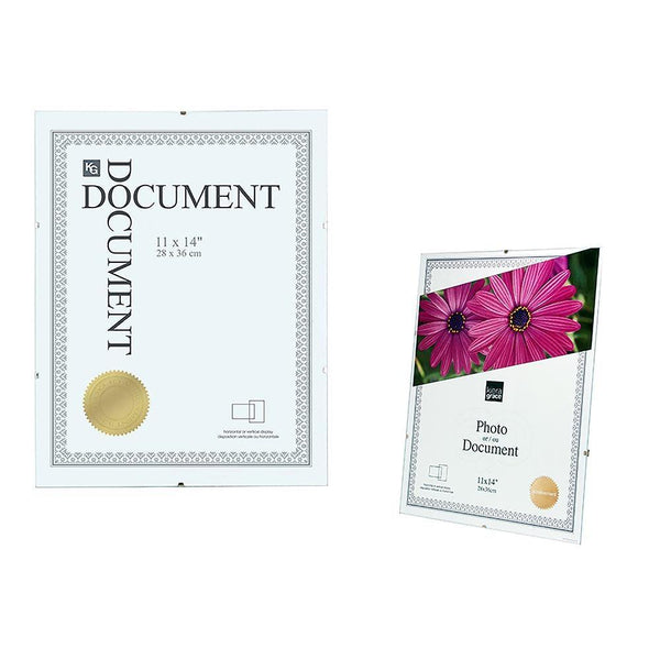 Clip Document Frame 11X14In Clear