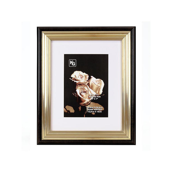 Jessica 8X10In Frame Black Gold