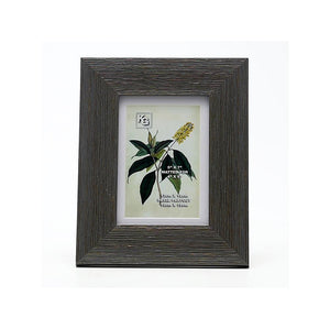 Gary 5X7In Frame Grey Barnwood With Brushed Gold