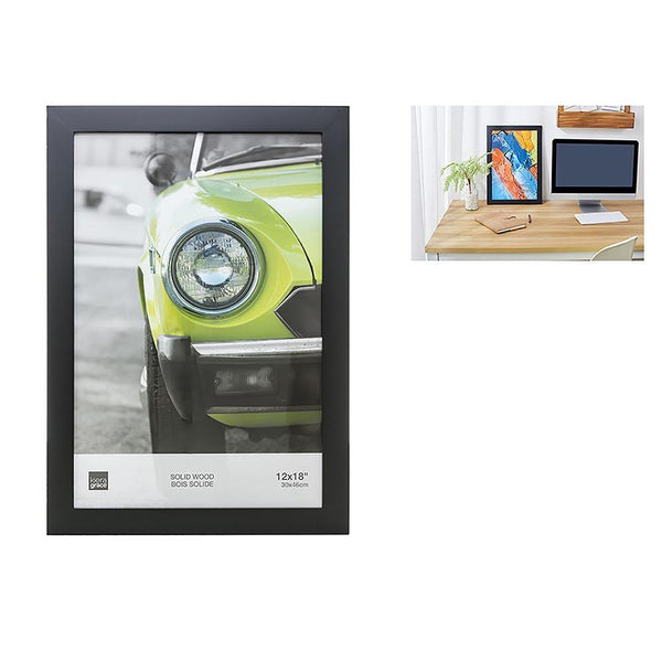 Langford 12X18In Poster Frame Wood, Black