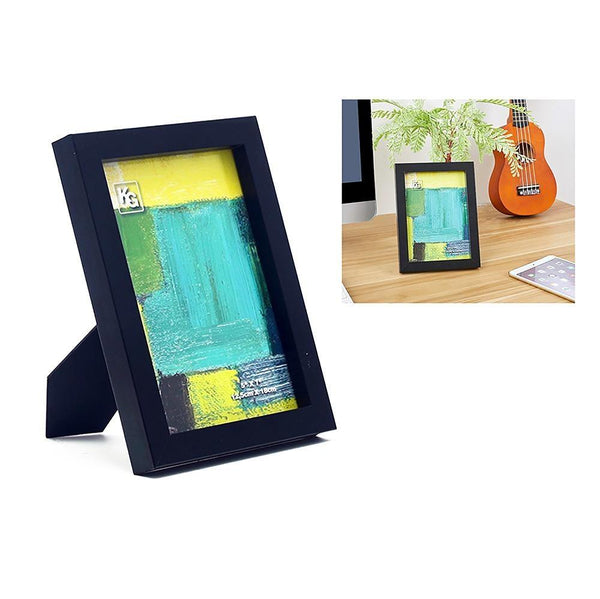 Contempo 5X7In Wood Frame Black