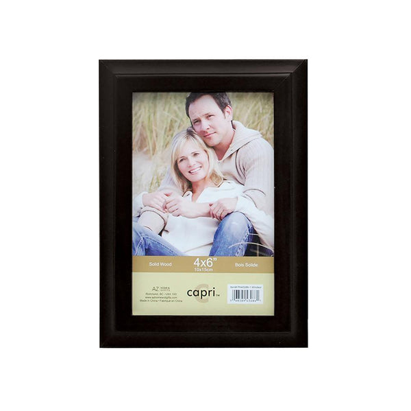 Windsor 4X6In Wood Frame-Black