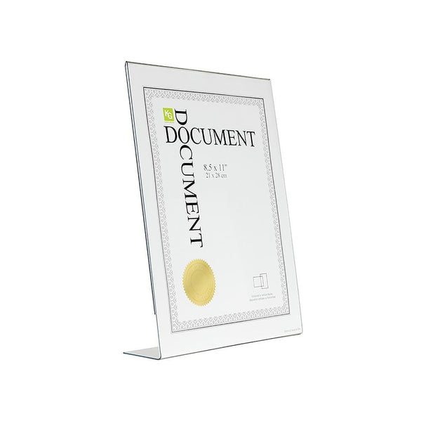 Clear L Document Frame 8.5X11In