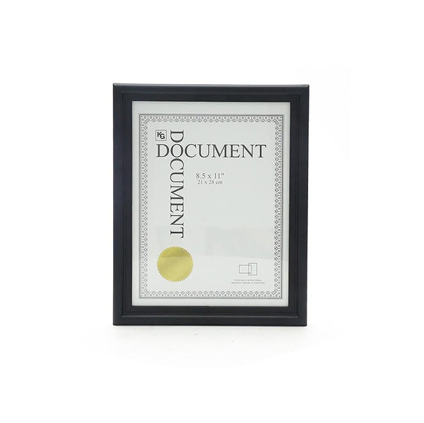Embassy 8.5X11In Document Frame, Black