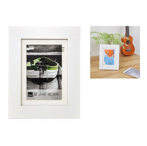Langford 5X7In (For 4X6) Frame Wood, White