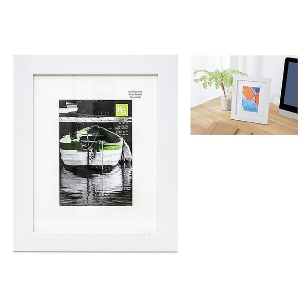 Langford 8X10In (For 5X7) Frame Wood, White