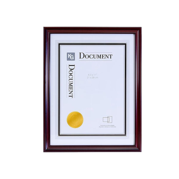 Harper Document Frame 8.5X11In Dark Brown