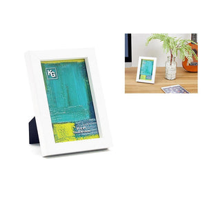 Contempo 4X6In Wood Frame White