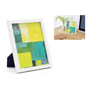 Contempo 8X10In Wood Frame White