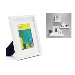 Contempo 8X10In (For 5X7) Wood Frame, White