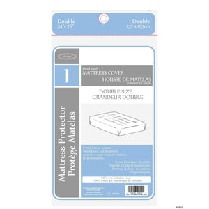Mattress Cover Doulbe 54X76In - Dollar Max Depot