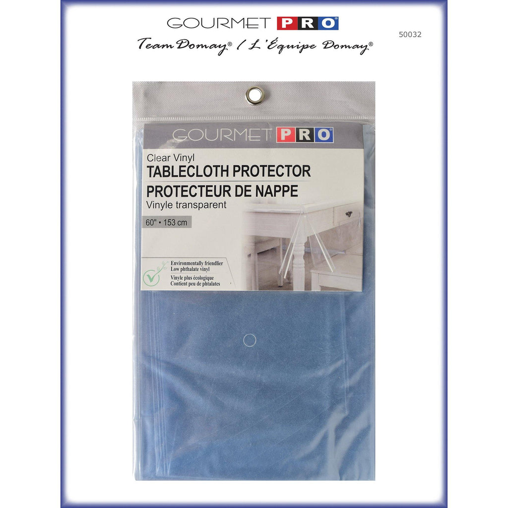 "Gourmet Pro Table Cloth Protector 60"" Round - Dollar Max Depot"