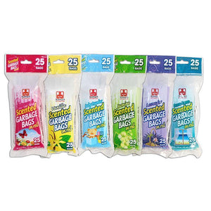 "Scented Garbage Bags On Roll 20""X22"" 25Pk"