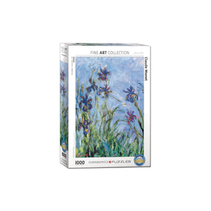 Eurographics Irises (Detail) By Claude Monet 1000-Piece Puzzle Box