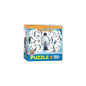 Eurographics Penguins 100-Piece Puzzle Box - Dollar Max Depot