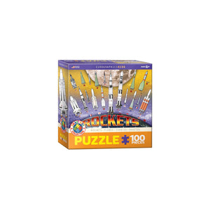 Eurographics Rockets 100-Piece Puzzle Box
