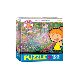Eurographics Monet'S Garden By Claude Monet 100-Piece Puzzle Box - Dollar Max Depot
