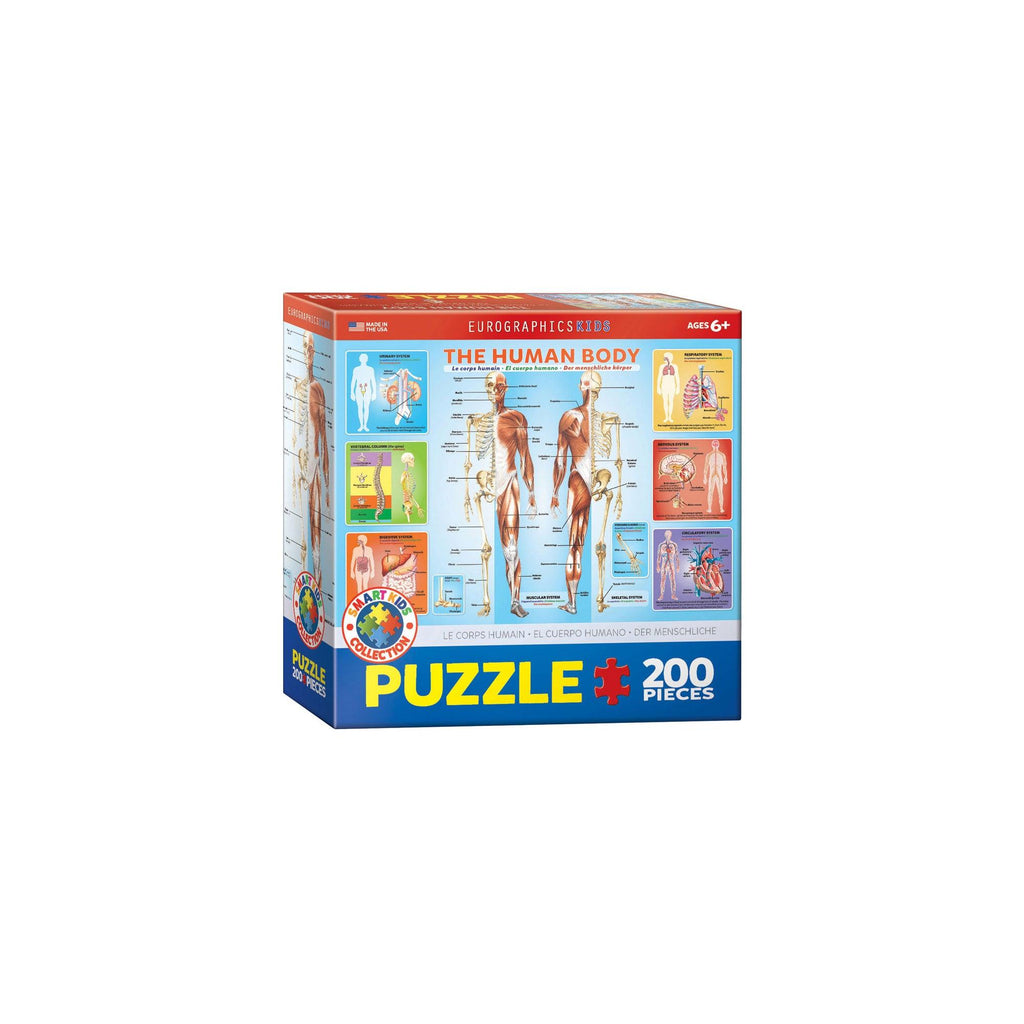 Eurographics The Human Body 200-Piece Puzzle Box