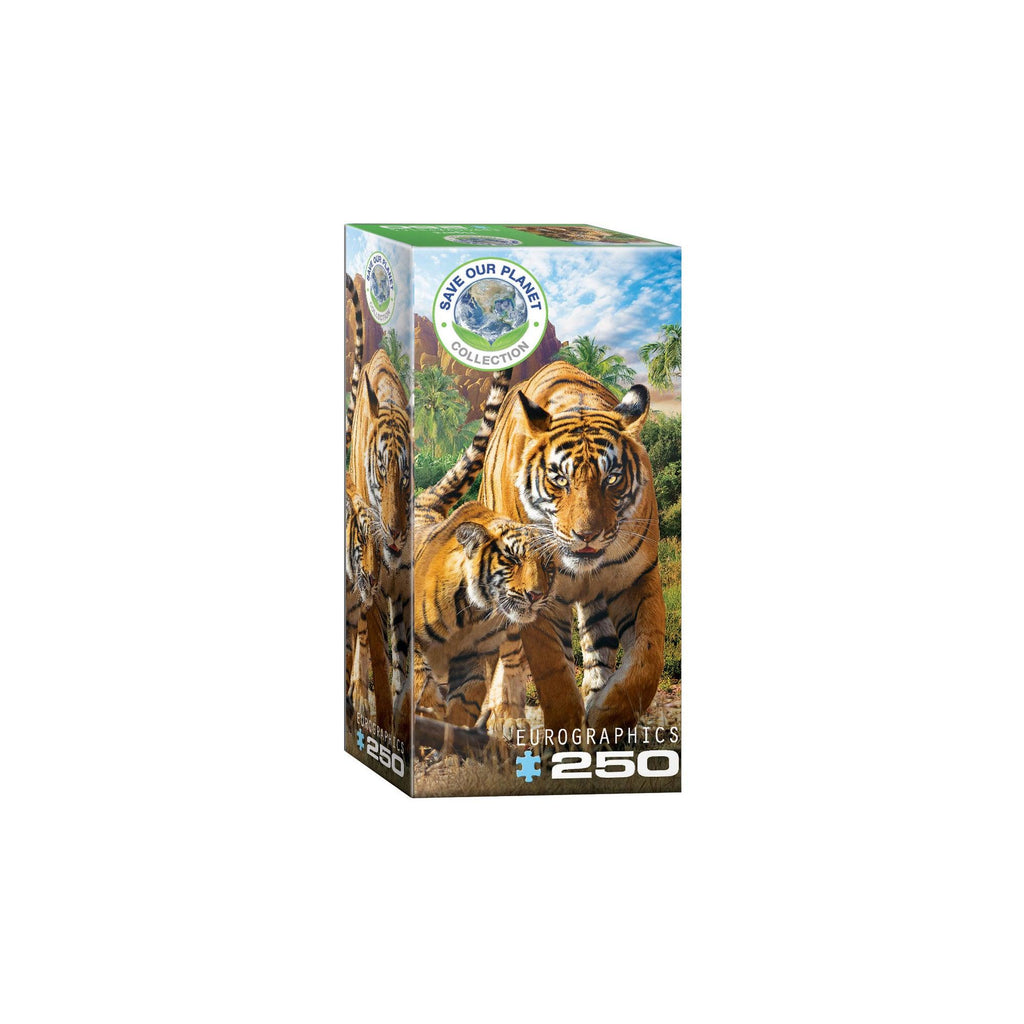 Eurographics Tigers 250-Piece Puzzle Box