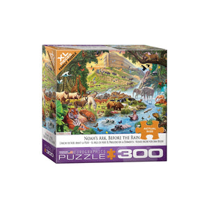 Eurographics Noah'S Ark Before The Rain By Steve Crisp 300-Piece Puzzle (Small Box)