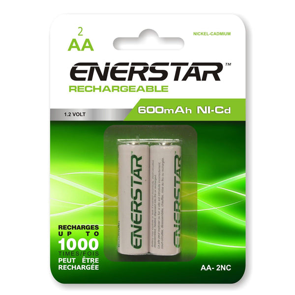 Batteries Rechargeable Aa Nc (2)