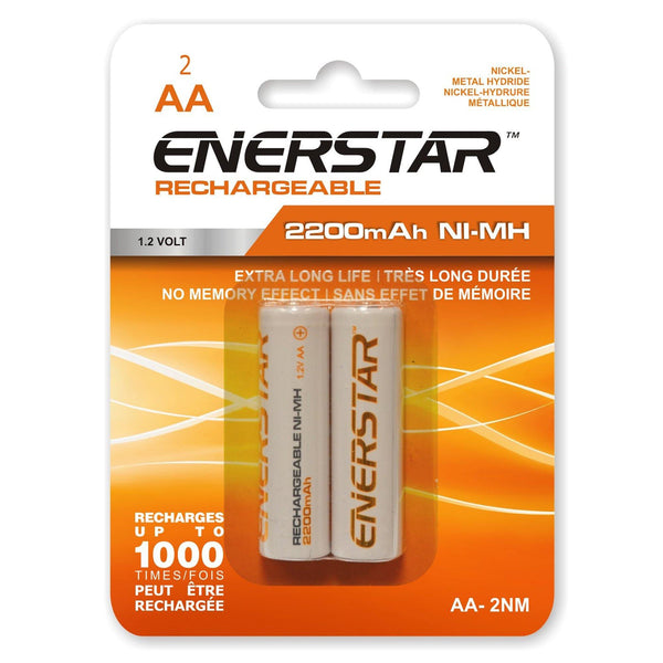 Batteries Rechargeable Aa Nm (2)