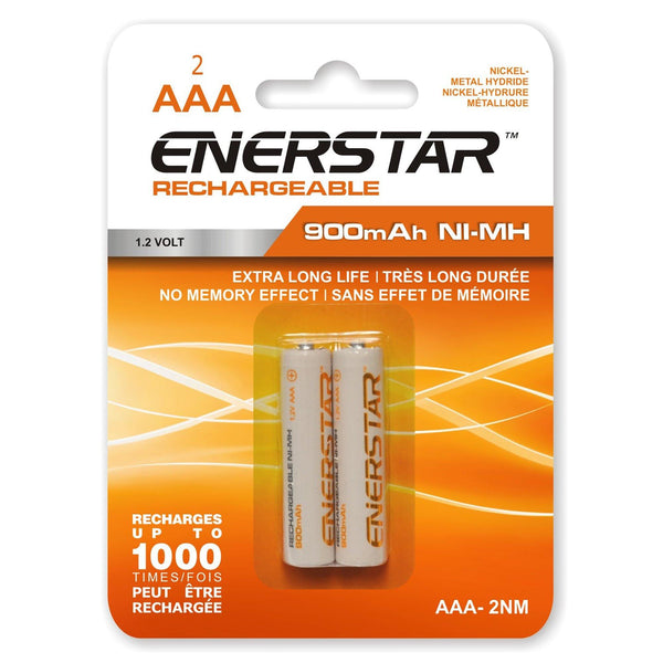 Batteries Rechargeable Aaa Nm (2)