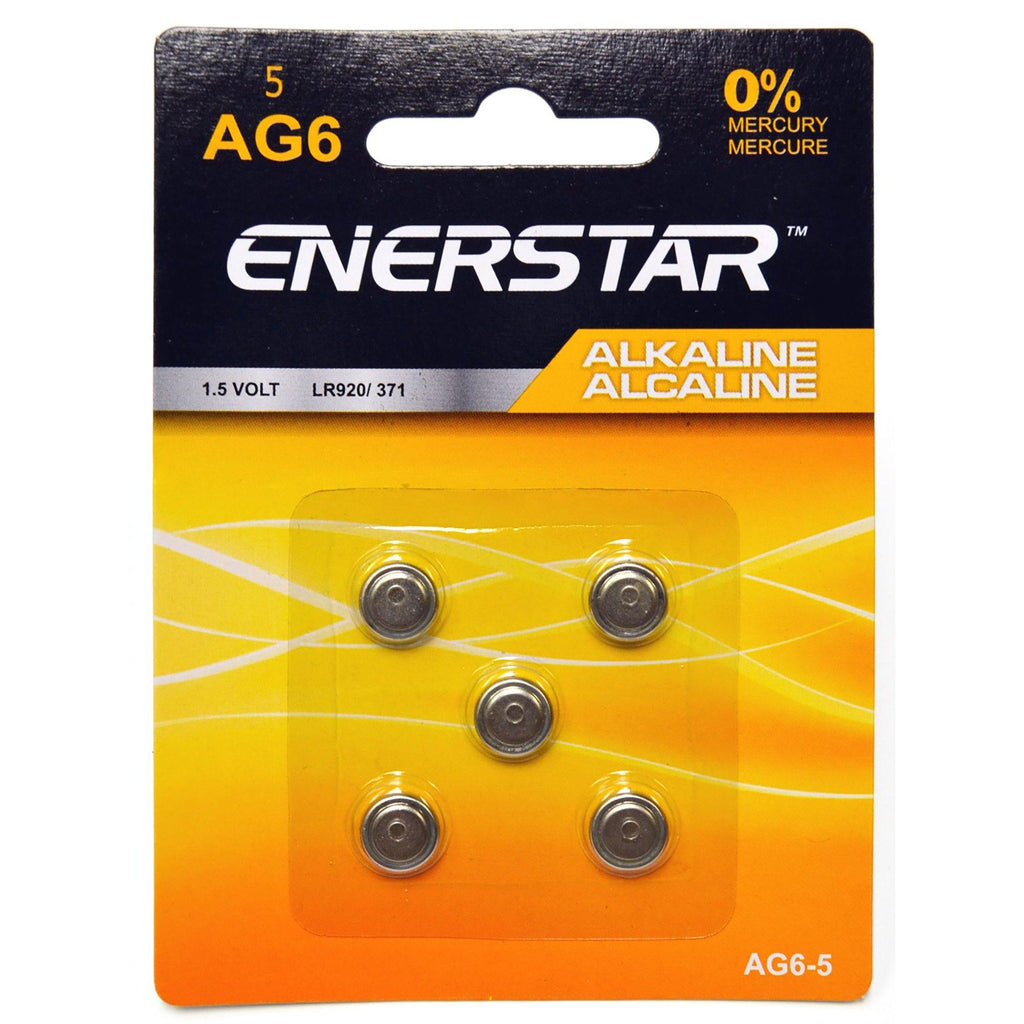 Batteries Buttons Ag6 (5) - Dollar Max Depot