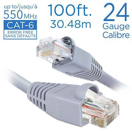 Cable Network Cat 6 100Ft - Dollar Max Depot