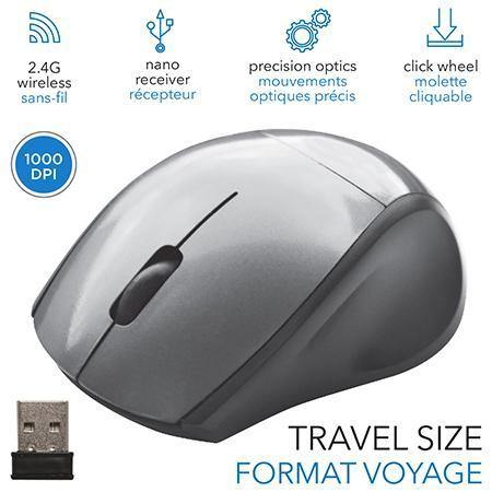 Wireless Mouse Travel