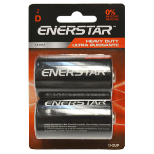 Batteries Ultra Power D (2) - Dollar Max Depot